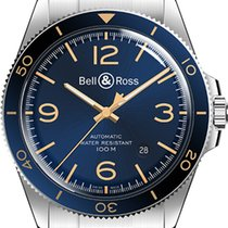 Bell & Ross BR V2 new Automatic Watch with original box BR-V2-92-AERONAVALE-SS