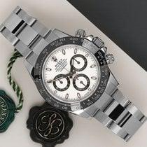 Rolex Daytona Aço 40mm Branco
