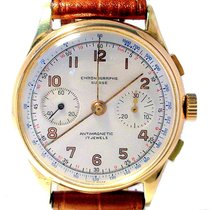 Chronographe Suisse Cie Желтое золото 38mm Механические подержанные