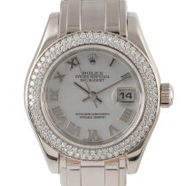 Rolex Pearlmaster White gold 29mm Mother of pearl