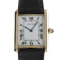 Cartier Tank Louis Cartier pre-owned 24mm White Leather