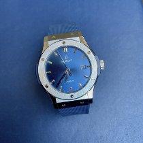 Hublot Classic Fusion Blue Titane 42mm Bleu Sans chiffres France, Paris