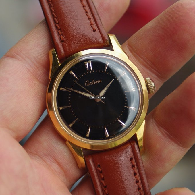 Certina 8777-4 1951 pre-owned