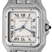 Cartier Panthère Steel 29mm Silver Arabic numerals United States of America, Texas, Dallas