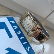 Elgin Acero y oro 23mm Cuerda manual 9687905 usados