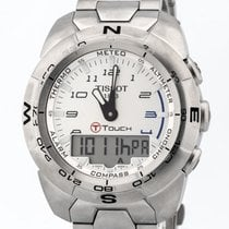 Tissot T-Touch Expert T013420A Muy bueno Acero Cuarzo
