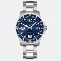 Longines HydroConquest Steel 41mm Blue Arabic numerals