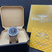 Breitling Montbrillant Datora Aço Preto
