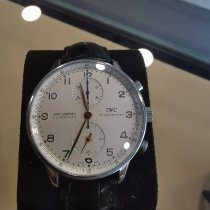 IWC Portuguese Chronograph IW371445 Foarte bună Otel Atomat România, Ilfov