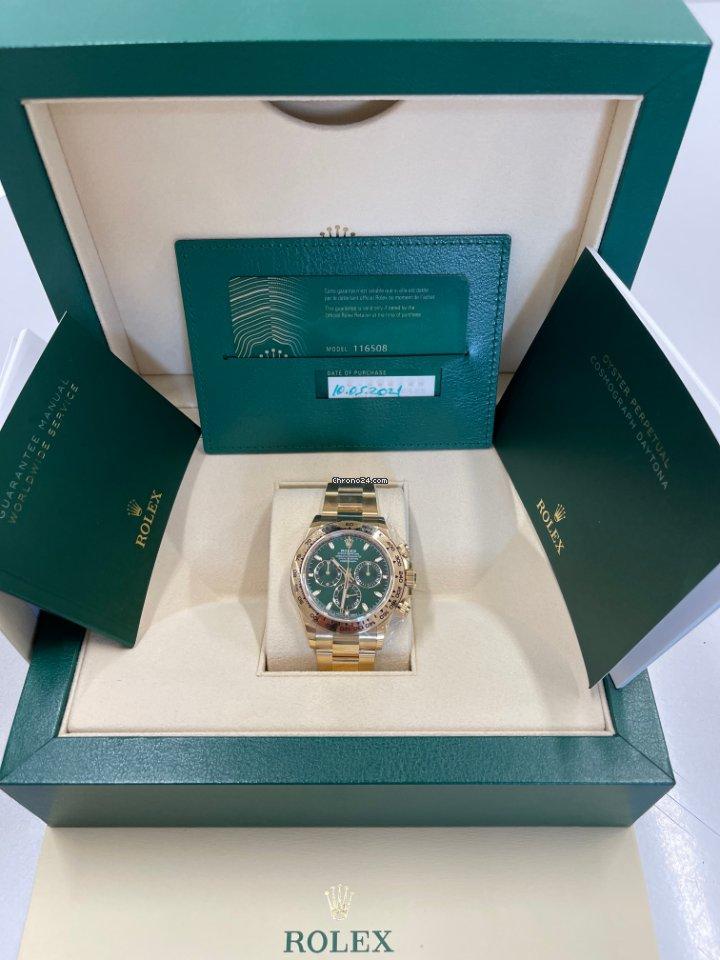 Rolex Daytona 116508 2021 новые