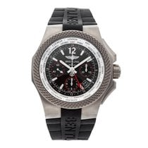 Breitling Bentley GMT Titanium 45mm Black No numerals