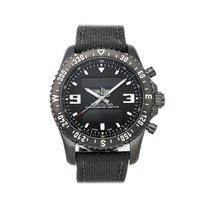 Breitling Chronospace Military Steel 46mm Black No numerals