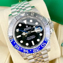 Rolex 126710BLNR Steel 2020 GMT-Master II 40mm pre-owned