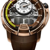 HYT Rose gold Manual winding Brown 48.8mm new H1