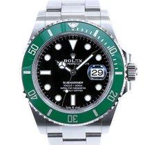 Rolex Submariner Date Steel 41mm Black No numerals