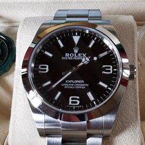 Rolex Explorer Acier 39mm Noir Arabes France, prades