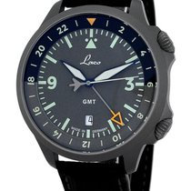 Laco pre-owned Automatic 43mm Grey Sapphire crystal 20 ATM