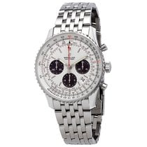Breitling Navitimer 1 B01 Chronograph 43 Steel 43mm Silver No numerals United States of America, Florida, Boca Raton
