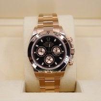 Rolex Daytona Rose gold 40mm Black No numerals United States of America, New York, NEW YORK
