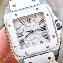 Cartier Santos 100 W20129U2 Muy bueno Acero 32mm Automático