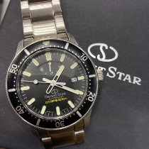 Orient Star Steel 43.6mm Black