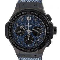 Hublot Big Bang Jeans nuevo Automático Cronógrafo Reloj con estuche y documentos originales 341.CX.2740.NR.1200.JEANS