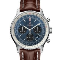 Breitling AB0121211C1P2 Staal 2021 Navitimer 1 B01 Chronograph 43 43mm nieuw