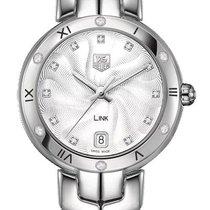 TAG Heuer Link Lady new Quartz Watch with original box WAT1312-BA0956