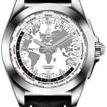 Breitling Galactic Unitime Steel 44mm White United States of America, California, Moorpark