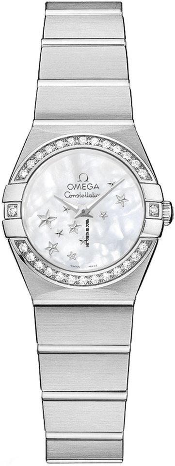 Omega Constellation Quartz 12315246005003 new