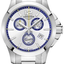 Longines Conquest Steel 36mm Silver United States of America, California, Moorpark