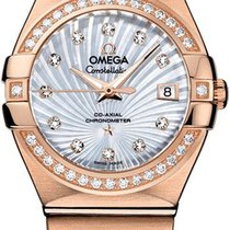 Omega Constellation Ladies Rose gold 27mm Mother of pearl United States of America, California, Moorpark
