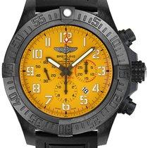Breitling Plastic Automatic Yellow Arabic numerals 50mm new Avenger Hurricane