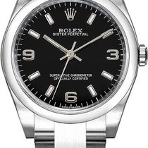 Rolex Oyster Perpetual 26 Steel 26mm Black Arabic numerals United States of America, California, Moorpark