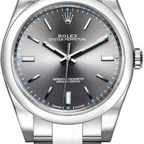 Rolex Oyster Perpetual 39 Acero 39mm Gris