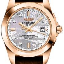 Breitling Rose gold Quartz 32mm new Galactic 32