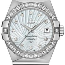 Omega 12355312055003 White gold Constellation Ladies 31mm new United States of America, California, Moorpark