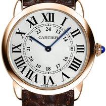 Cartier Quartz Silver Roman numerals 36mm new Ronde Solo de Cartier