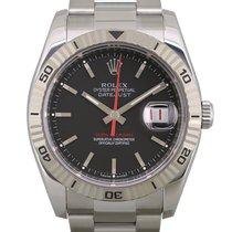 Rolex Datejust Turn-O-Graph Steel 36mm Grey No numerals