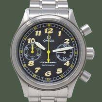 Omega Dynamic Chronograph Steel 38mm Black Arabic numerals
