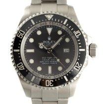 Rolex Sea-Dweller Deepsea Stål 43mm Svart