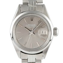 Rolex Oyster Perpetual Lady Date Steel 26mm Grey