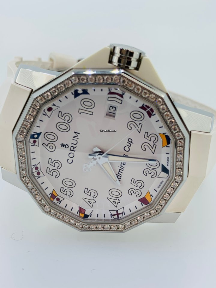 Corum Admiral's Cup Competition 40 082.961.47/F379 neu