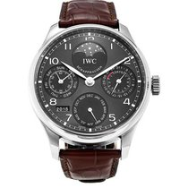 IWC Portuguese Perpetual Calendar White gold 42.5mm Grey United States of America, New York, NY