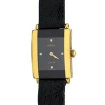 Rado Florence Yellow gold 18mm Black