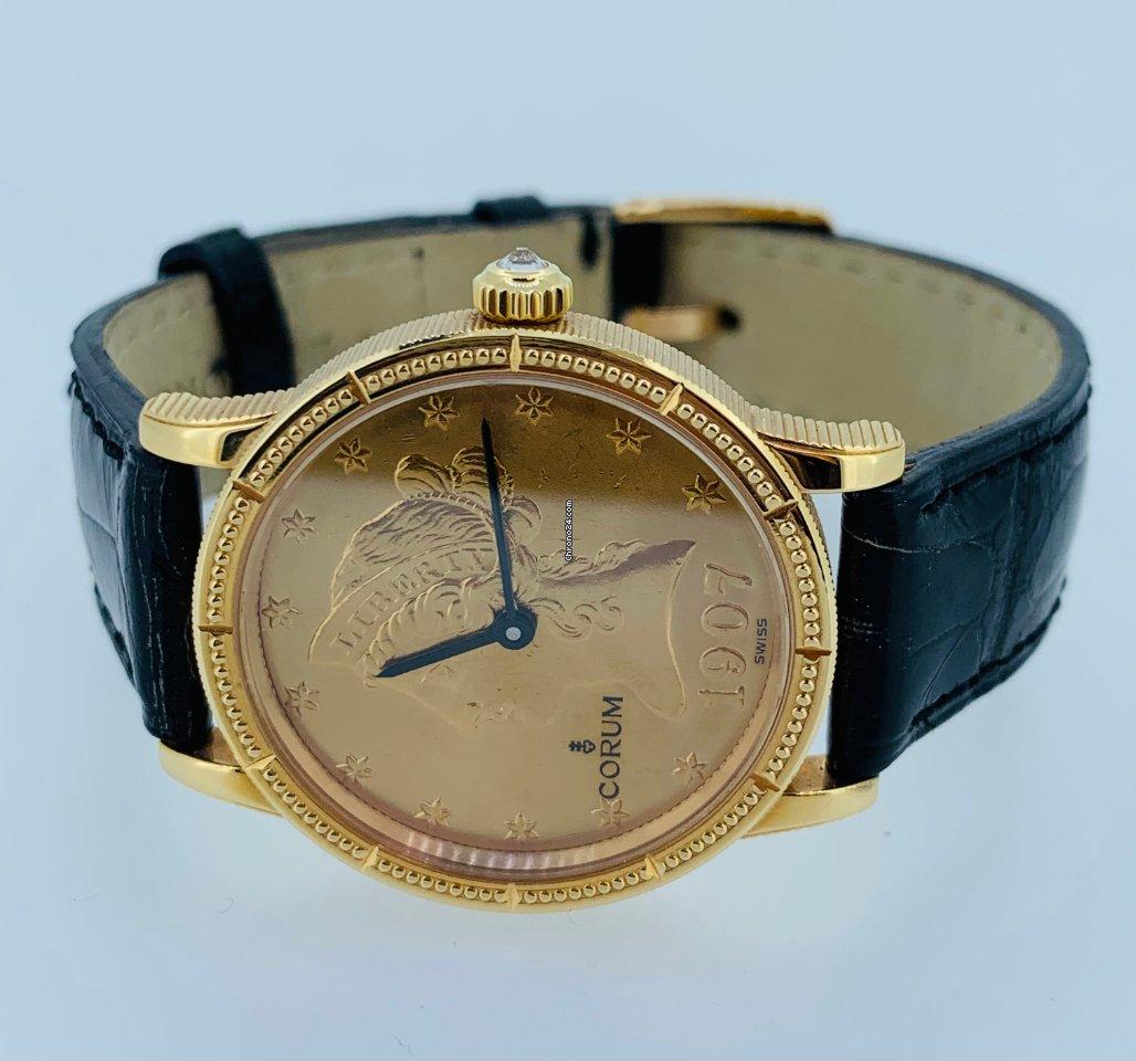 Corum Coin Watch 049.357.56 neu