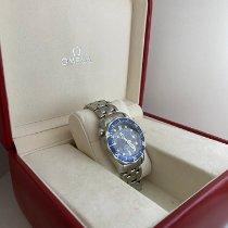 Omega usados Cuarzo 36mm Azul Cristal de zafiro 30 ATM