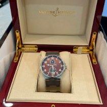 Ulysse Nardin Marine Chronometer 41mm Steel 41mm Brown Arabic numerals United States of America, New York, howard beach