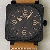 Bell & Ross BR 01-92 Steel 46mm Black Arabic numerals United States of America, California, Upland