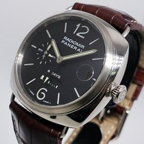 Panerai White gold Manual winding Black Arabic numerals 45mm pre-owned Special Editions
